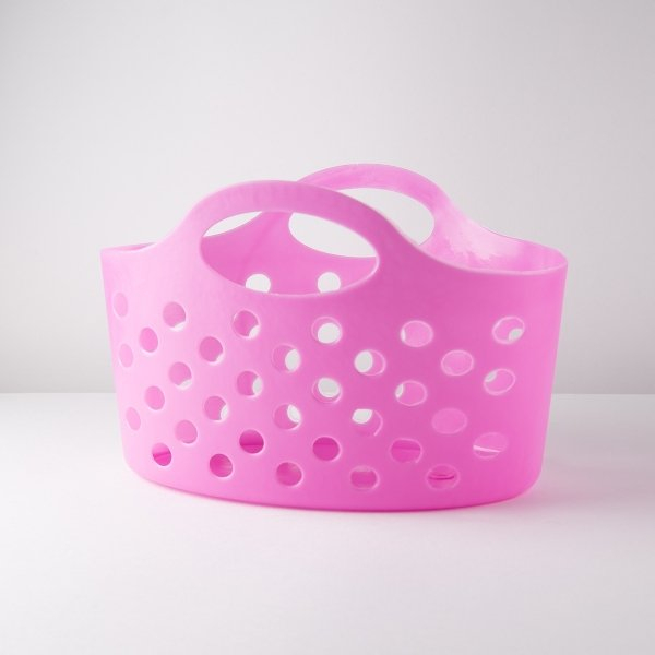 Neon Coloured Plastic Flexi Basket [ARCHIVE]