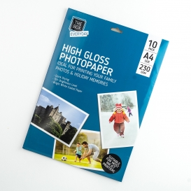 High Gloss A4 Photo Paper 10pk