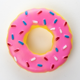 Doughnut Shaped Squeaky Dog Toy [ARCHIVE]