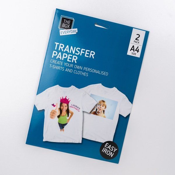 Iron On Transfer Paper 2pk