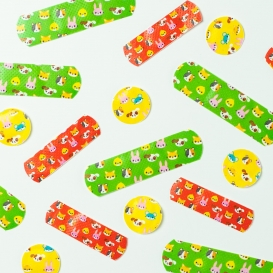 Assorted Animal Plasters 75pk
