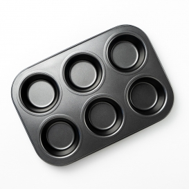 Non-Stick Muffin Tray 6 Cups