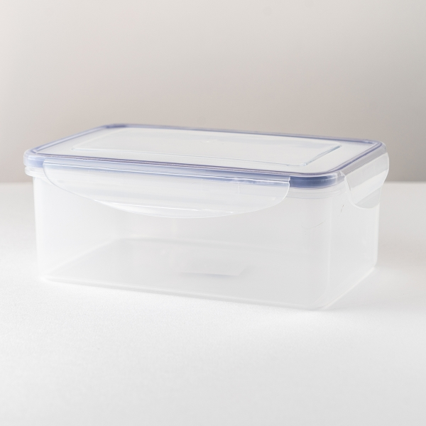 Rectangular Clip-Lock Container
