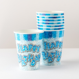 Birthday Paper Cups - 8 pack [ARCHIVE]