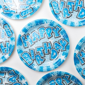 Birthday Party Plates - 8 pack [ARCHIVE]