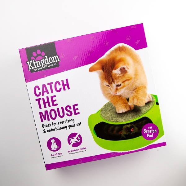 Catch the Mouse Cat Play Toy