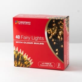 Christmas Fairy Lights - Clear