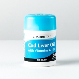 Cod Liver Oil with Vitamins 60 Capsules