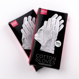 Dermatological White Cotton Gloves 2pk