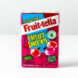 Fruit-Tella Fruit Drops - Red Berry Flavour