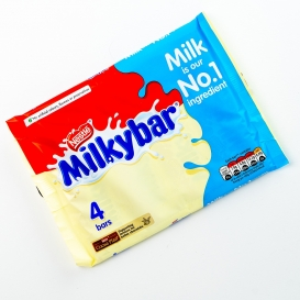 Milkybar Chocolate - 4 Pack