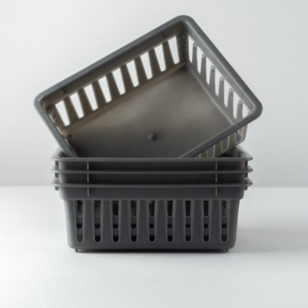 Plastic Storage Baskets - 4 Pack [ARCHIVE]