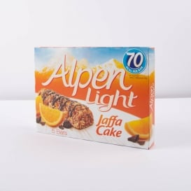 Alpen Light Cereal Bar 5pk - Jaffa Cake
