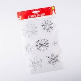 Christmas 3D Foil Window Stickers
