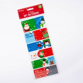 Christmas Gift Tag Stickers 120pk