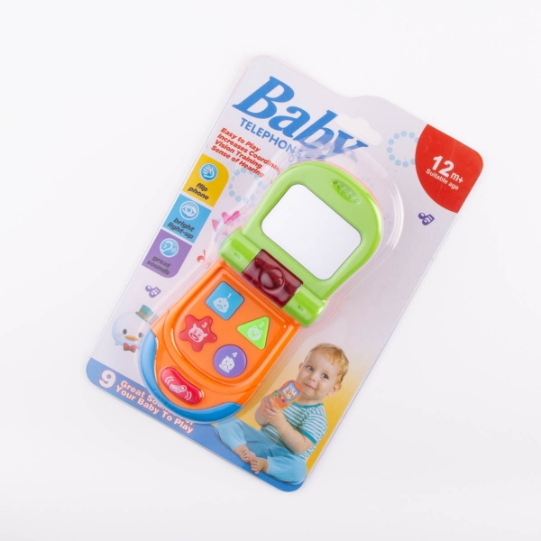 Interactive Baby Phone - Orange