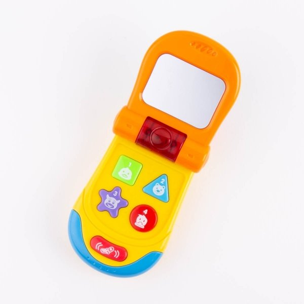 Interactive Baby Phone - Yellow
