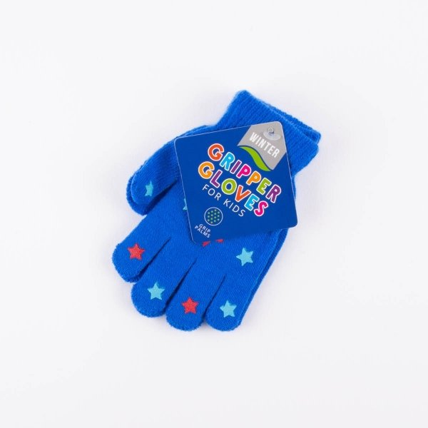 Kids' Grip Gloves - Stars