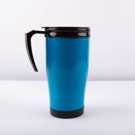 Thermal Drinking Mug - Blue