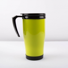 Thermal Drinking Mug - Green