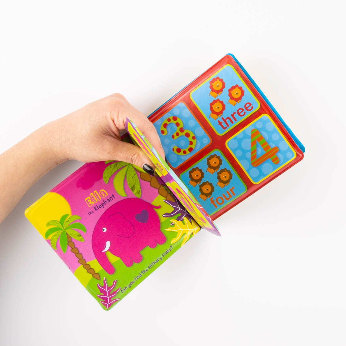 Baby Bath Book - Numbers in the Jungle