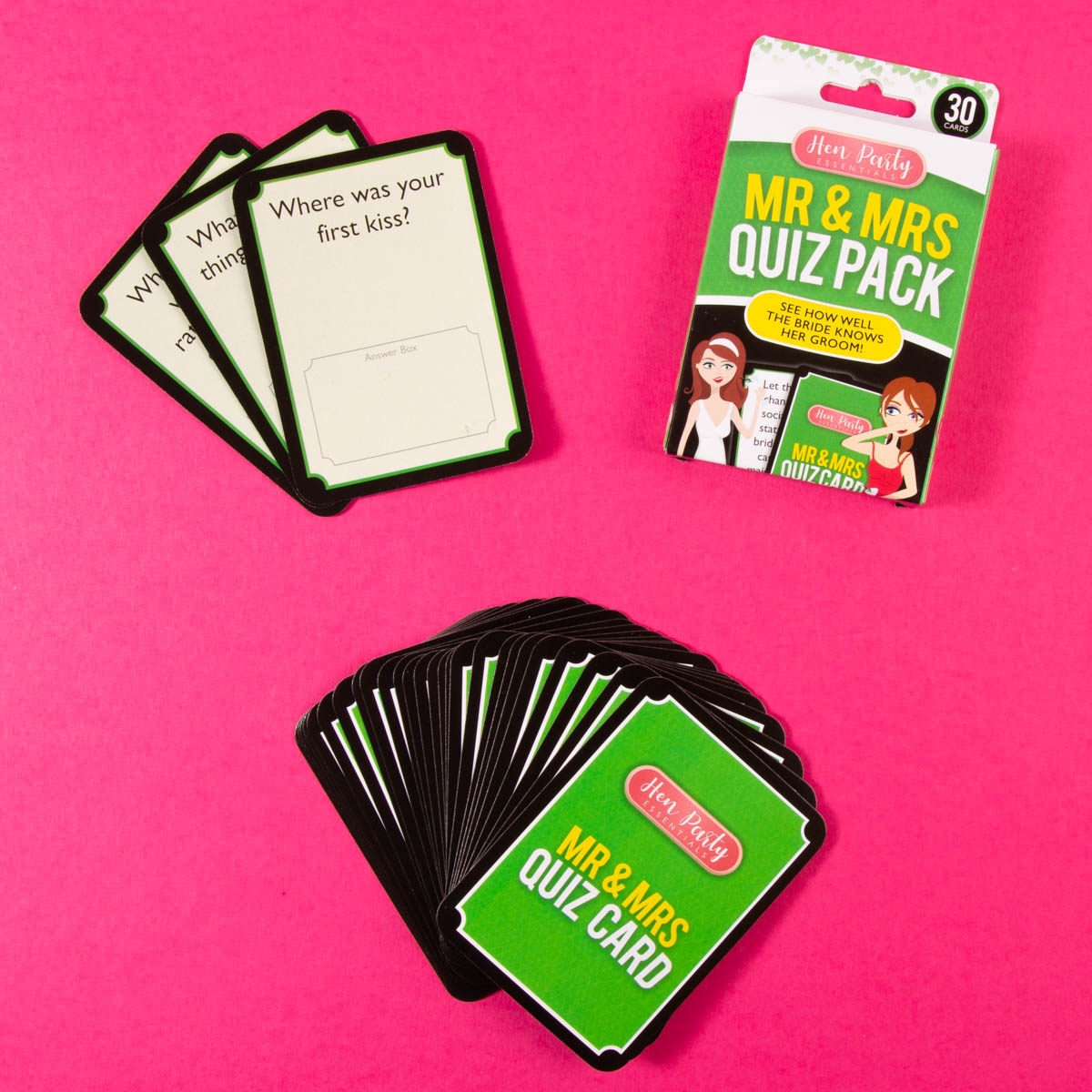 Mr & Mrs Quiz Card Game