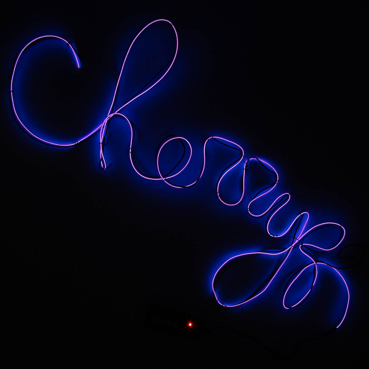 Make Your Own Neon Sign - Purple
